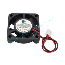 10pcs lot 3D Printer Cooling Fan 40 40 10mm 12V 0 11A With 2 Pin Dupont