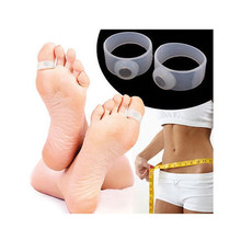2 x Slimming Weight Loss Keep Fit Magnetic Toe Ring