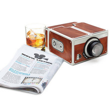 Generation II Smartphone Projector  DIY Cardboard Mobile Phone Projector Portable Cinema Without Power Supply Factory Price