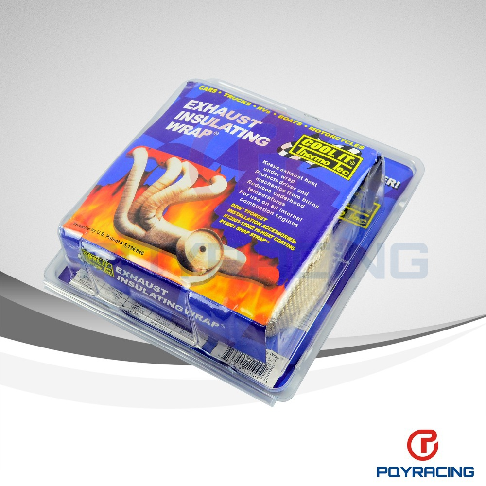 PQY STORE COOL IT Thermo Tec Thermal Wrap exhaust insulating wrap header wrap exhaust pipe wrap