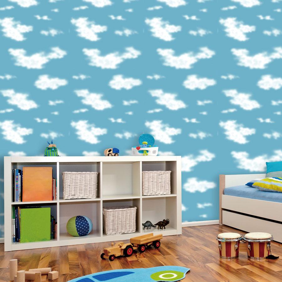 achetez en gros papier peint plafond nuages en ligne 224 des