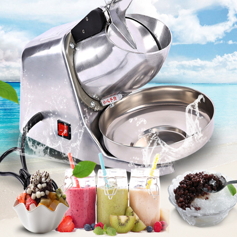 Commercial electric ice shaver machine professional ice crusher 220V ZF(China (Mainland))