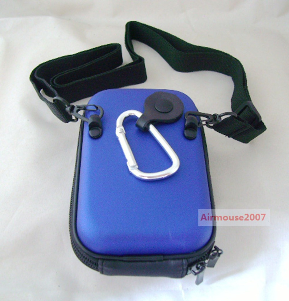 Hard Camera Case For Kodak C123 C135 C143 C183 C190 C195 C1530 M381 M575 M577 M580 SLICE Sport Touch FZ151 Blue(China (Mainland))