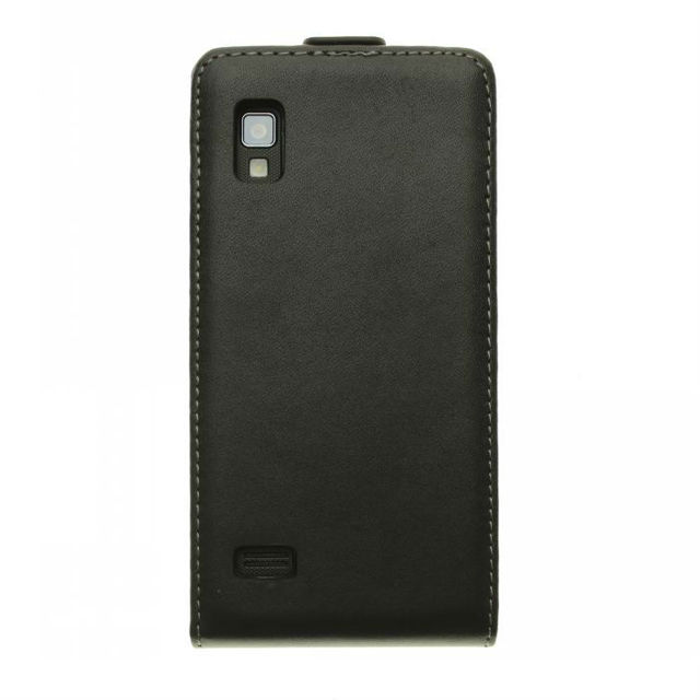 Free shipping For LG Optimus L9 P760 Magnetic Flip Genuine Leather Case