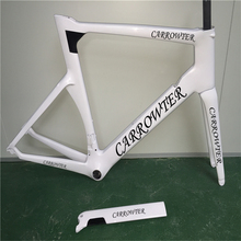 Buy Black logo White Models 3K/UD T1000 CARROWTER concept carbon road bicycle frame BB30/BB68 Road bike carbon frame free for $596.00 in AliExpress store