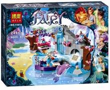 2016 New Original BELA 10410 Girl Naida's Spa Secret Building Blocks Friends Buildable Educational toys Compatible Legoe Elves(China (Mainland))