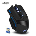 New Zelotes F15 Dual Mode Gaming Mouse Wired 2 4G Wireless 2500 DPI 9 Buttons USB