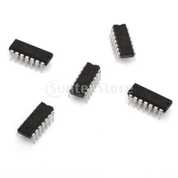Free Shipping 5pcs Low Power Voltage Comparators LM339N
