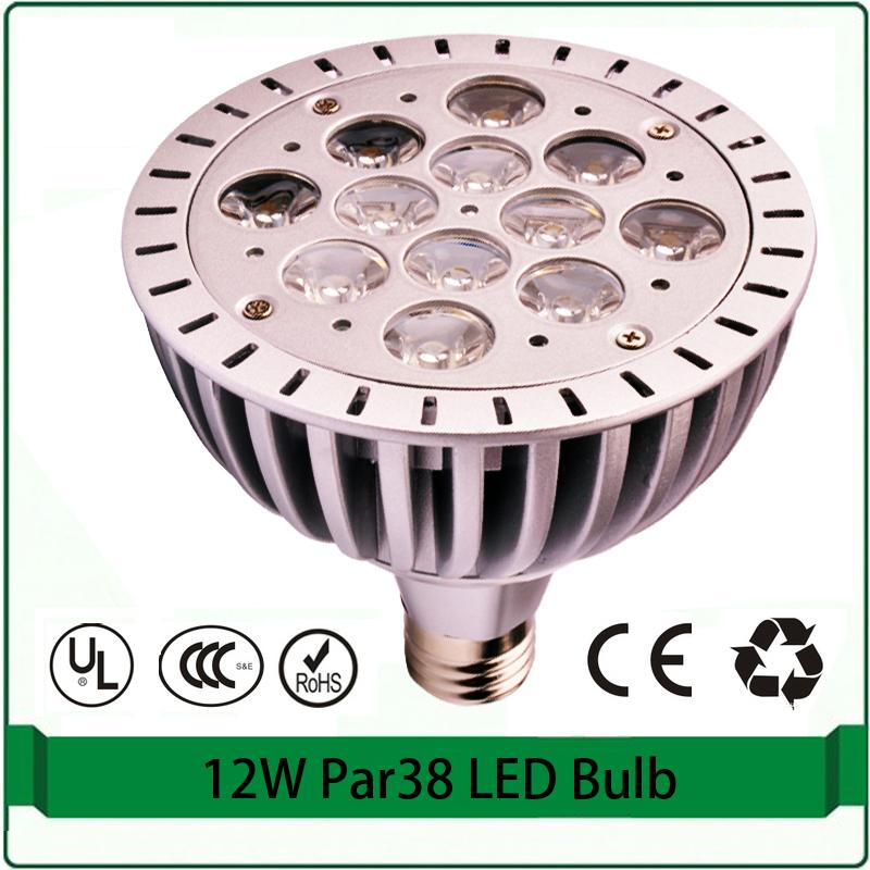 12x1W high power led Par38 spotlight high power spotlight<br><br>Aliexpress