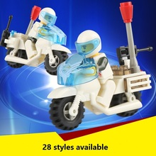 New Single Sale Enlighten educational toys police truck missile launcher DIY toys building blocks,children toys playmobile gifts(China (Mainland))