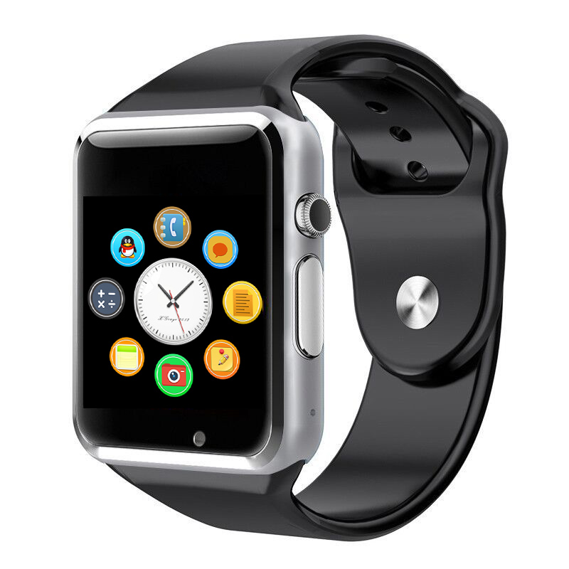 2016 New Arrival A1 Smart Watch Clock Sync Notifier Support SIM TF Card Connectivity Apple iphone Android Phone Smartwatch(China (Mainland))