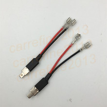 Buy 10pcs/lot h1 wire plug power cable connectors h1 wire headlight connector h1 hid xenon lamps h1 socket halogen bulb adapter for $27.90 in AliExpress store