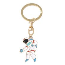 QIHE joyería astronauta llaveros espacio viaje colección llavero planeta estrella galaxia llavero regalo para amante del espacio(China)