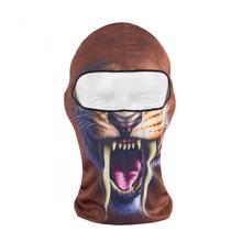 2016 Balaclava New 3d Print Animal Active Snowboard Hats Bicycle Cycling Motorcycle Masks Ski Hood Hat Veil Face Mask Cap
