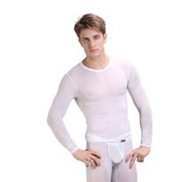 1 Set New Men's Thermal Underwear Comfy Long Johns Men Soft Sleepwear Warm Trousers Pants M L XL XXLHigh Quality Free Shipping(China (Mainland))