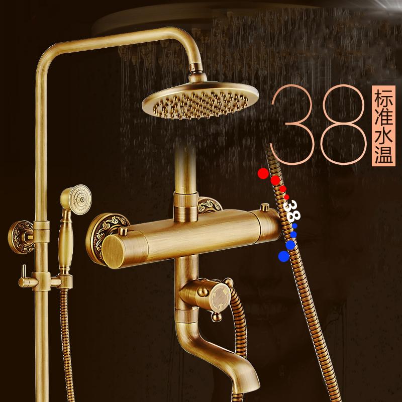 Compra mezclador termost tico de ducha grifos online al for Manija para ducha