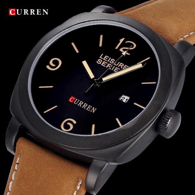 TopSale CURREN Men Watches Top Brand Luxury Men Military Wrist Watches Men Watch Waterproof Relogio Masculino
