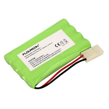 Floureon 9.6V 1800mAh Ni-Mh RC Battery Rechargeable 8 Cells AA(4*2) With Tamiya Connector Fruit Green Replacement Battery(China (Mainland))