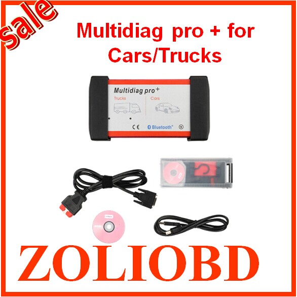 DHL free 2016 newly design V2014.03 Bluetooth Multidiag Pro+ auto scanner multi-diag pro plus Cars/Trucks OBD2 4GB TF Card - ZL Obdtoolshop Co.,Ltd. store