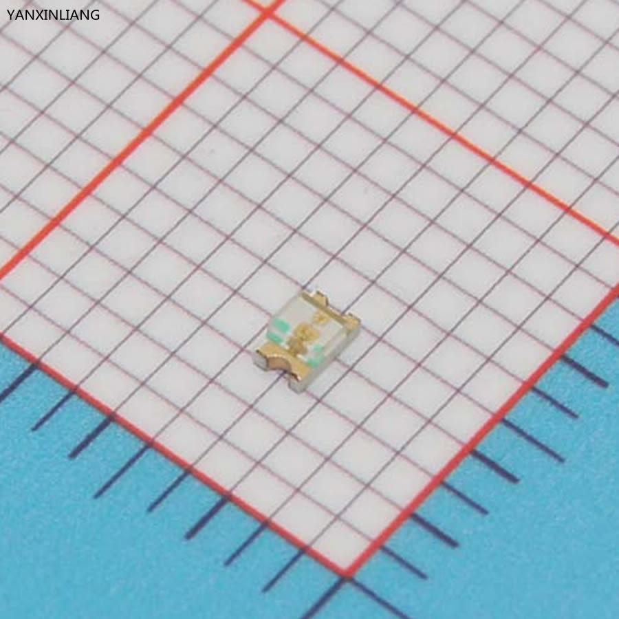 100pcs Yellow 0805 SMD LED diodes light(China (Mainland))