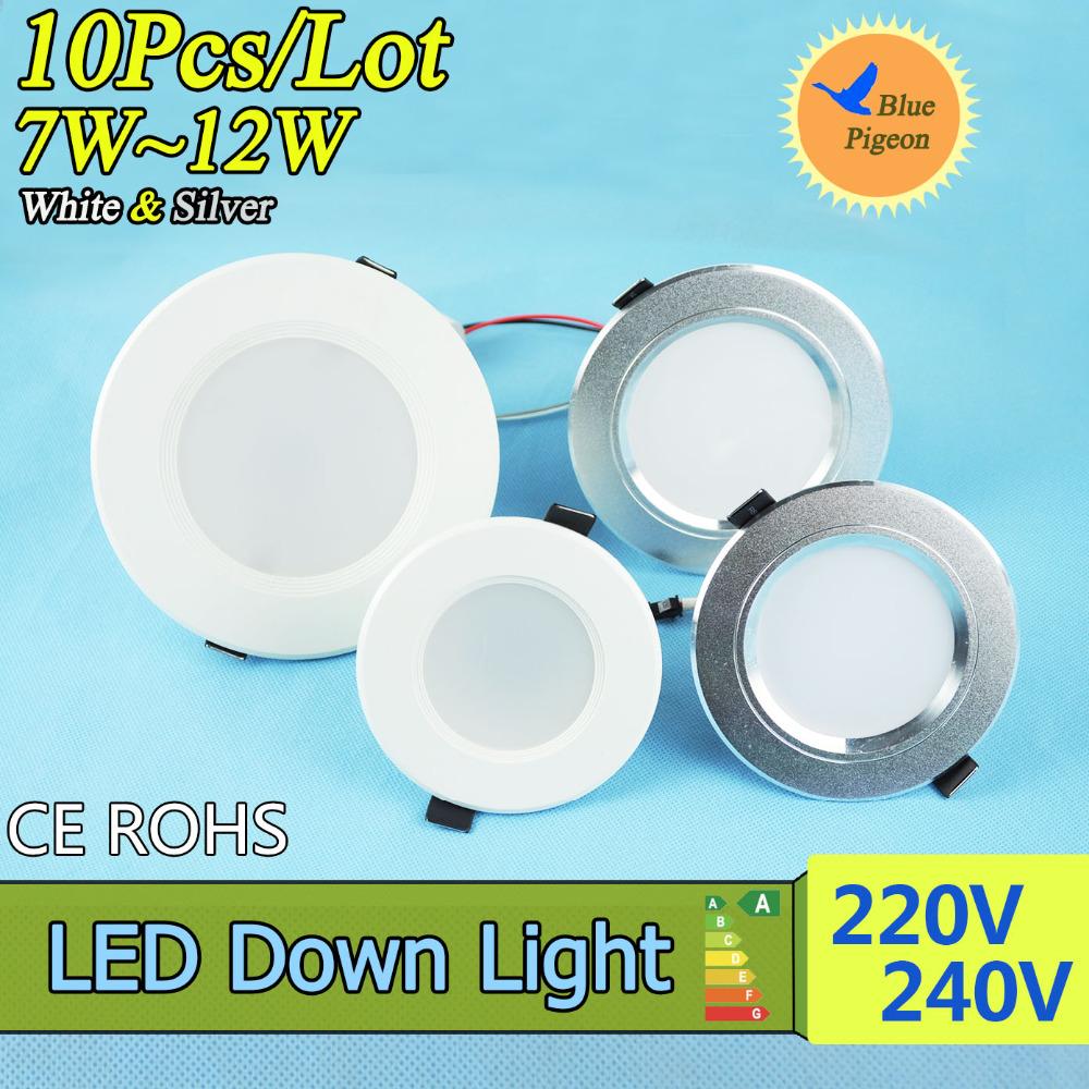 Гаджет  10pcs LED Ceiling Light  5W 5730SMD led lamps Ceiling Lamps CE&RoHS AC220-240V Ceiling LED Lights For Home None Свет и освещение