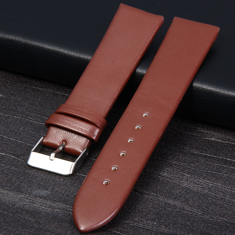 20mm Dull Polish Leather Band Strap for Watch Business Fashion Casual Vintage <br><br>Aliexpress