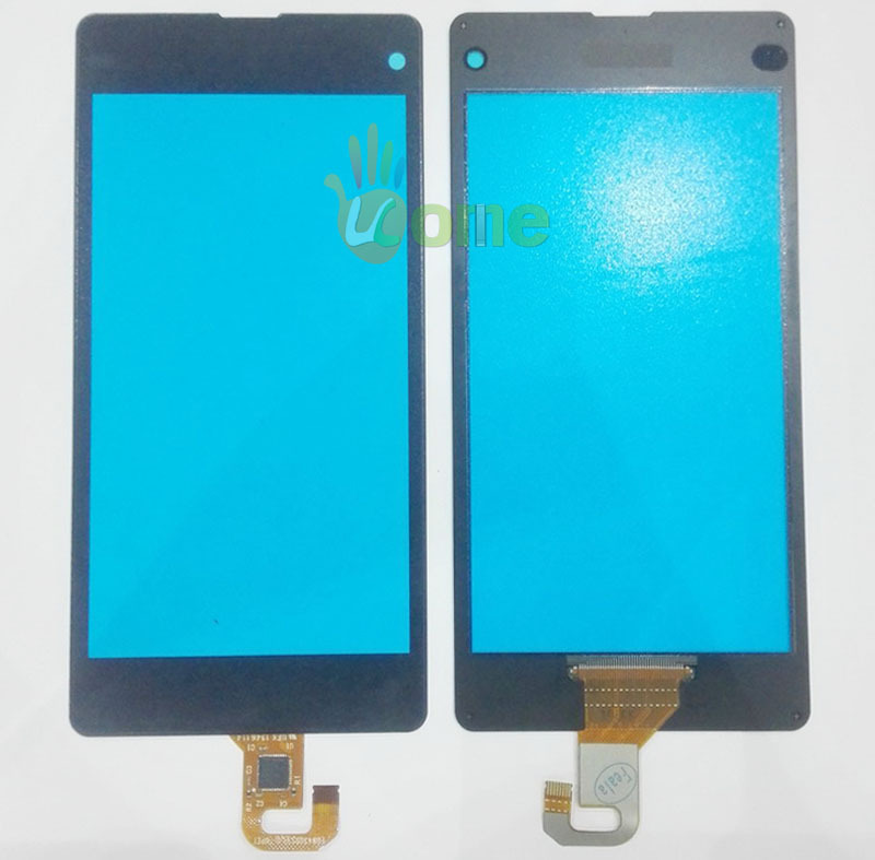For Sony Xperia Z1 Compact Mini D5503 M51w Original Digitizer Touch Screen Panel Glass With Flex Cable + Tools Free Shipping(China (Mainland))