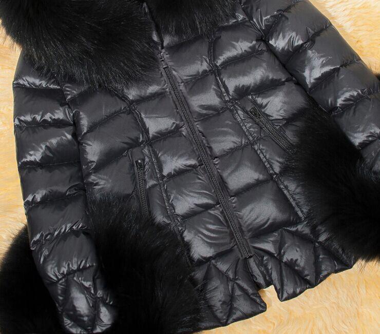 Скидки на Женская Короткий Участок Повседневная Кожа Pu Куртка С Капюшоном Хлопок Проложенный Зима Осень Женский Парки Большой Размер Одежды Пальто J1712