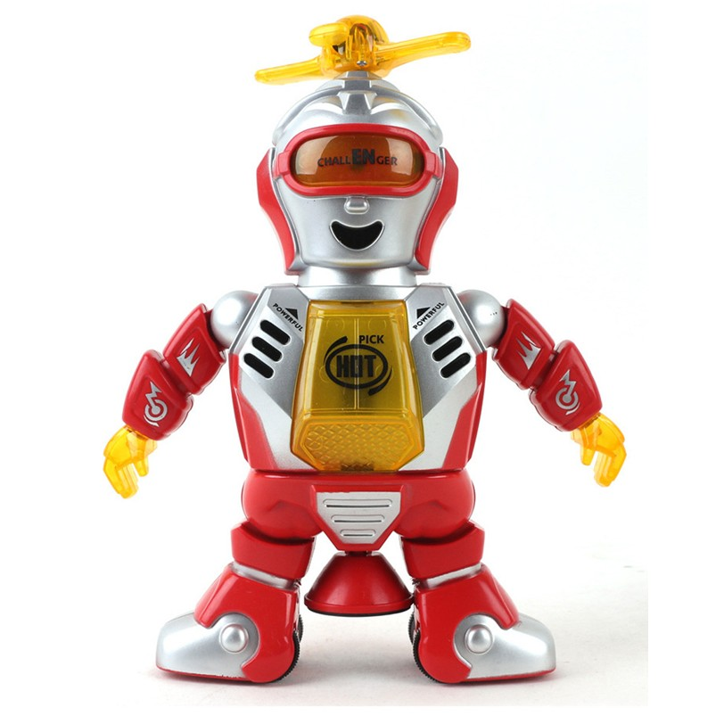 Best seller factory price Electronic Walking Dancing Smart Space Robot Astronaut Kids Music Light Toys Mar8(China (Mainland))
