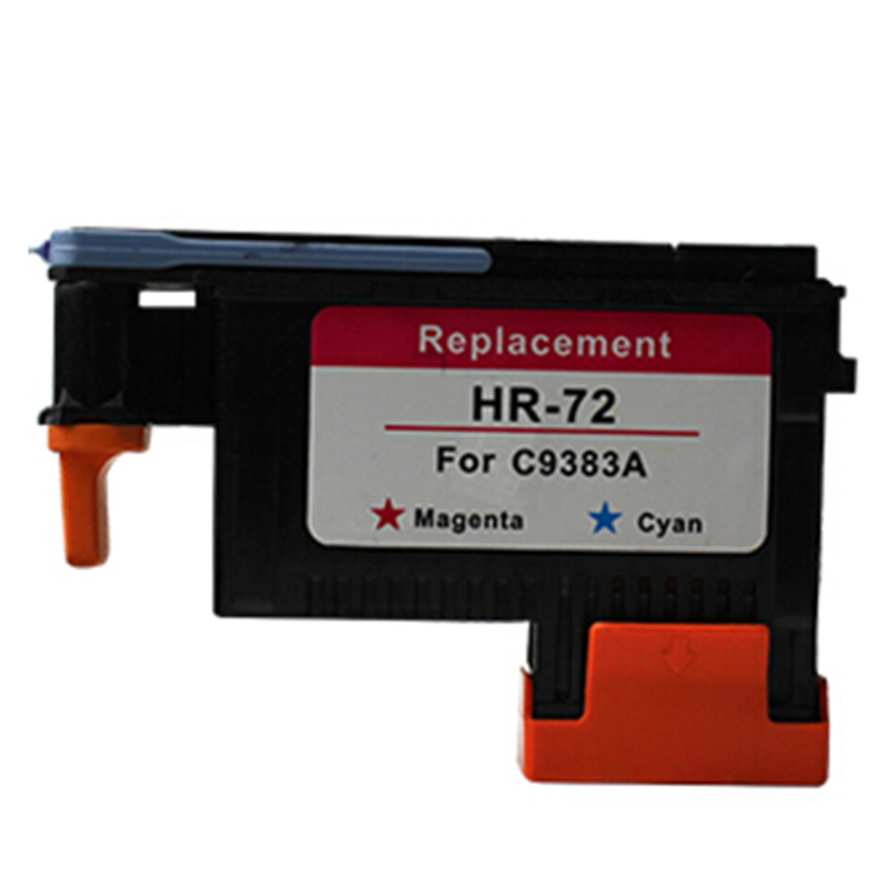For HP72 For HP 72 C9383A  Printhead Cyan+Magenta Designjet T1100 T790 T770 T610 T620 T1200 T1120 T2300 Printer Free Shipping