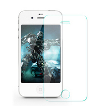 ecran protecteur pelicula vidro HD 0.3mm ultra thin covering tempered glass screen protector guard for ipone 4 iphone4 iphone 4s