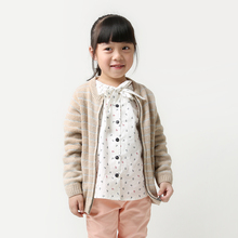 2-8 years girls wool cardigan christmas sweaters for toddlers brand designer children european clothing stripe sweater jacket