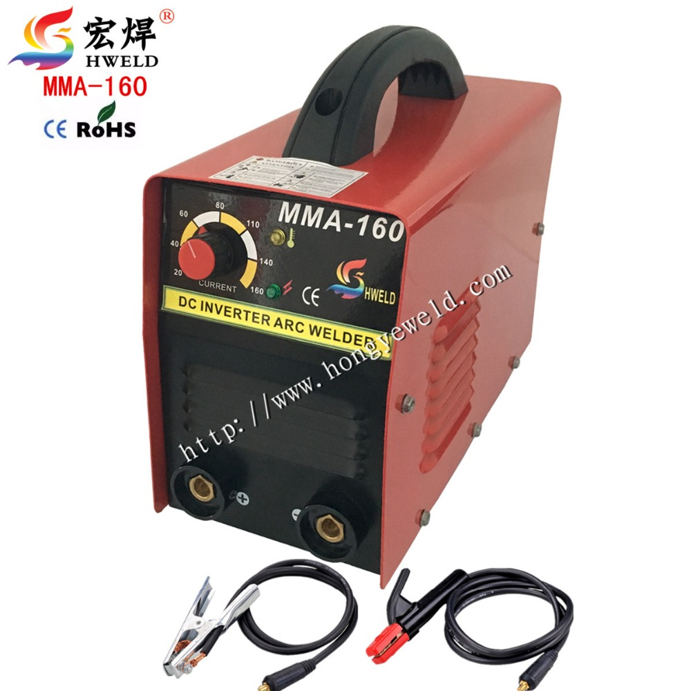 Arc Welder Inverter Weld Inverter Kaynak Makinesi IGBT Protable DCMMA Welding Machine MMA160 With Accessories(China (Mainland))