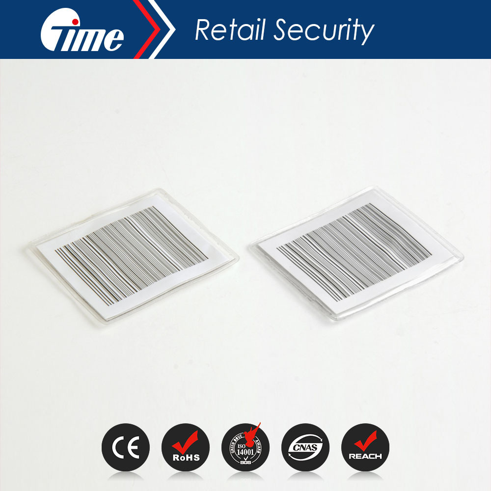 RL4605 EAS 8.2MHz Security Soft Punch RF Paper Labels Tag Checkpoint Compatible(China (Mainland))
