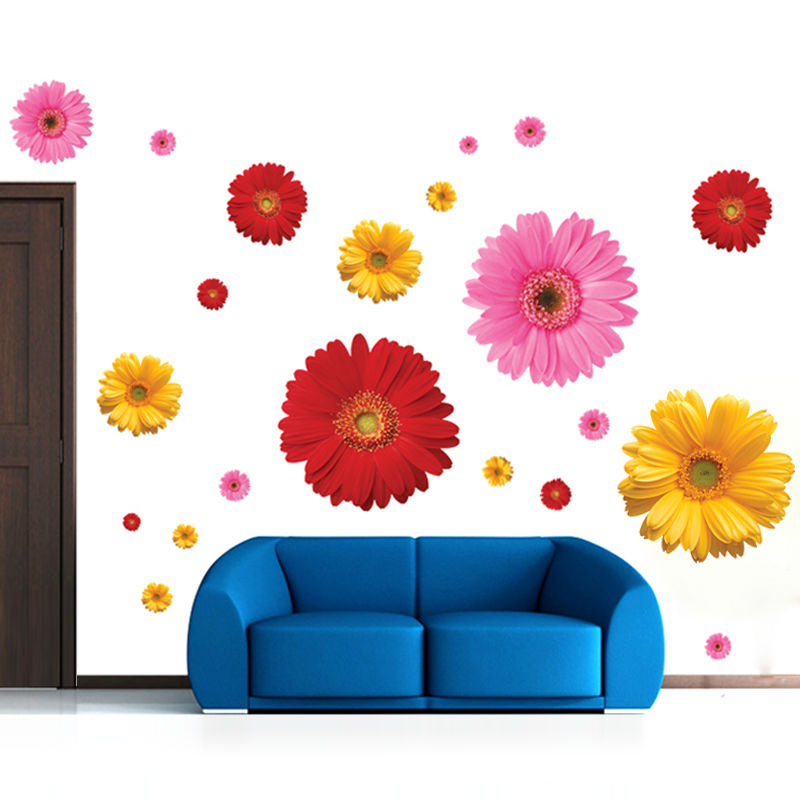 Buy 6 designs creative daisy sakura for Home decorations with flowers