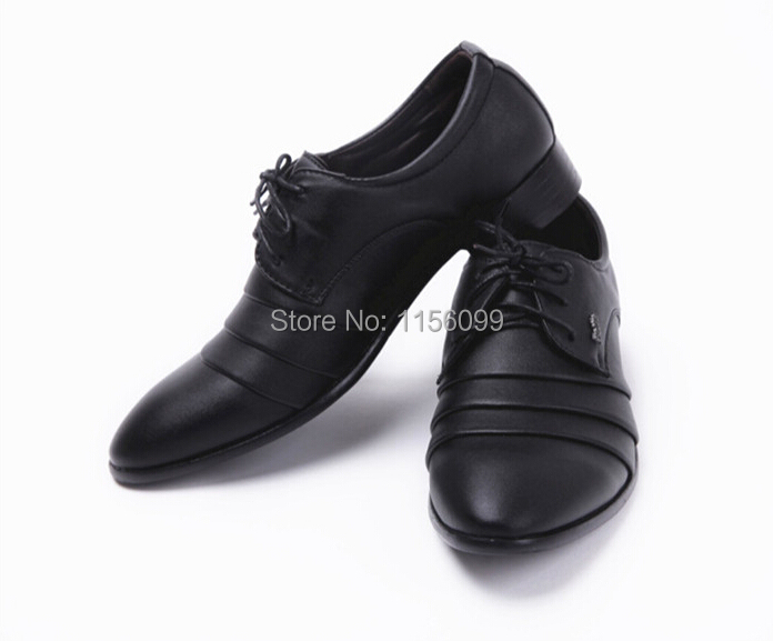 2015 New Mens leather shoes Men Oxford Dress shoes  Male Bussiness Oxfords(China (Mainland))