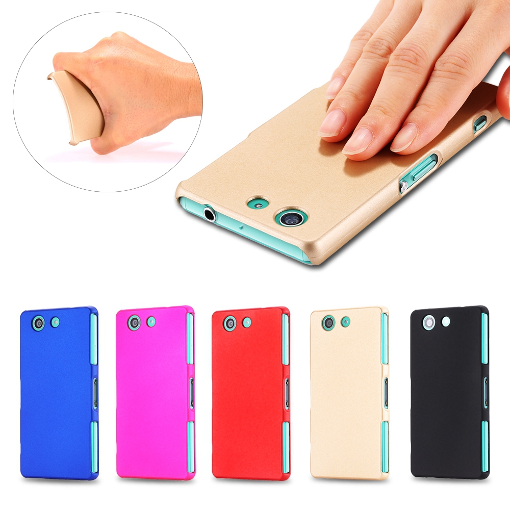 For Z3 Mini Ultra-thin Matte Frosted Color Hard Back Cover Case For SONY Xperia compact Z3 Mini M55W Phone Accessories Cases(China (Mainland))