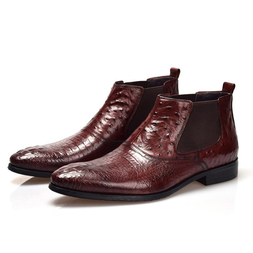 Compare Prices on Ostrich Leather Cowboy Boots- Online Shopping ...