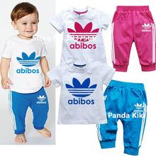 Baby boy clothes 2016 Brand summer kids clothes sets t-shirt+pants suit clothing set Clothes newborn sport suits