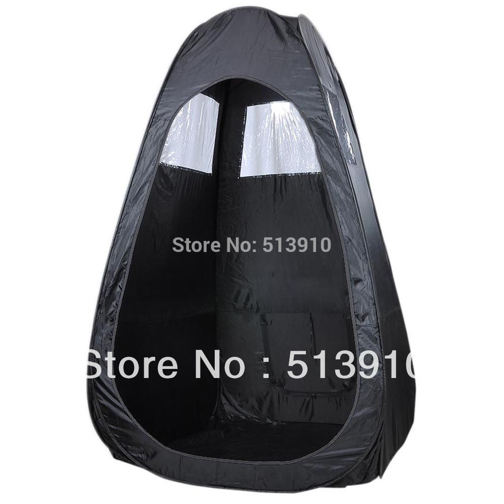 Black/Tan/Pink Pop Up Airbrush Makeup Sunless Spray Tanning Tent Booth Clear Window have direct factory accept OEM order(China (Mainland))