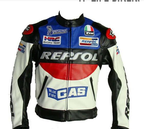 New Desigen Monster Style Blue And White Motorcycle High Performance Quality Men Rider Jacket For Yamaha