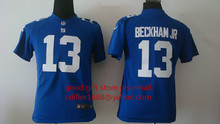 youth York Giants children 11 Phil Simms 13 Odell Beckham Jr. 56 Lawrence Taylor 80 Victor Cruz Embroidery Logos,camouflage(China (Mainland))