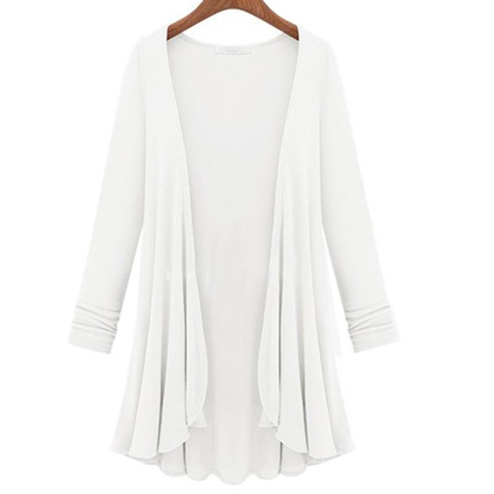 Long White Sweater Coat - Coat Nj