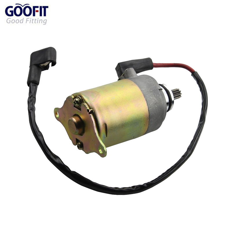 GOOFIT Starter Motor for font b Gy6 b font 150cc Chinese Scooters ATV and Go Karts