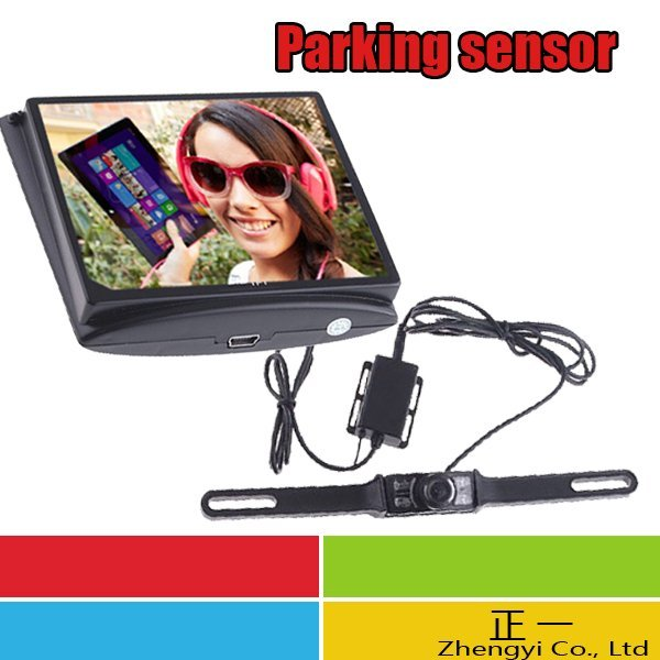 "3.5"" Wireless LCD Monitor Car Rear View Security Parking Reversing Camera System"