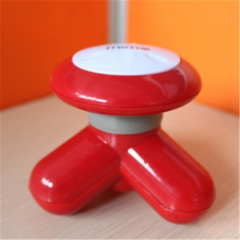 Mini Cute Handled Use USB / Battery Electric Mini Vibrating Full Body Massager Best Gift 6 Colors To Choose(China (Mainland))