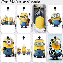 Buy Mobile Phone Cases Meizu M5 Note Cover Meilan Note 5 5.5 inch Hard Plastic Skin Cartoon Despicable Shell Housing Shield for $1.68 in AliExpress store