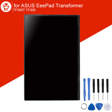 LCD For ASUS EeePad Transformer TF300T TF300 Original New Display Panel Screen Monitor with 9 in 1 Opening Repair Tools 103015