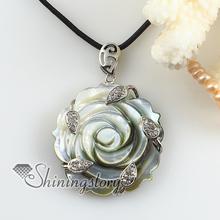 flower cameo white oyster shell rhinestone necklaces pendants 2013 handmade fashion jewelry cheap fashion jewelry(China (Mainland))
