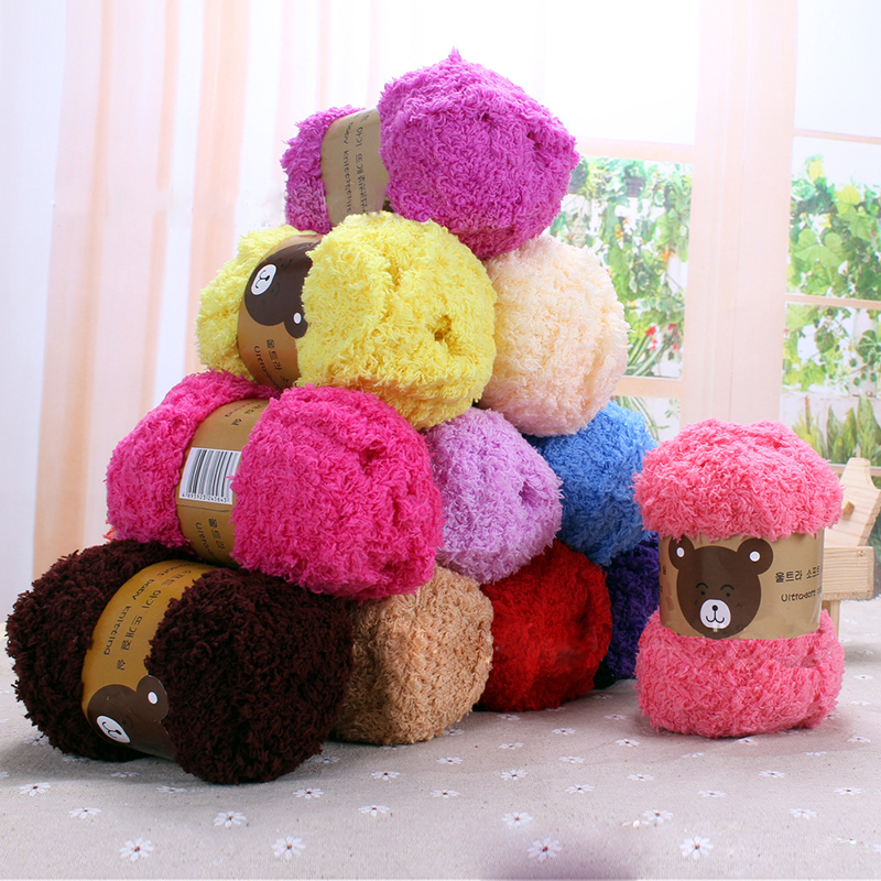 Hot Sale 2017 1 Skeins Soft and comfortable Long baby Yarn for hand knitting scarf socks pants hat sweater yarn Fit DIY QB671630